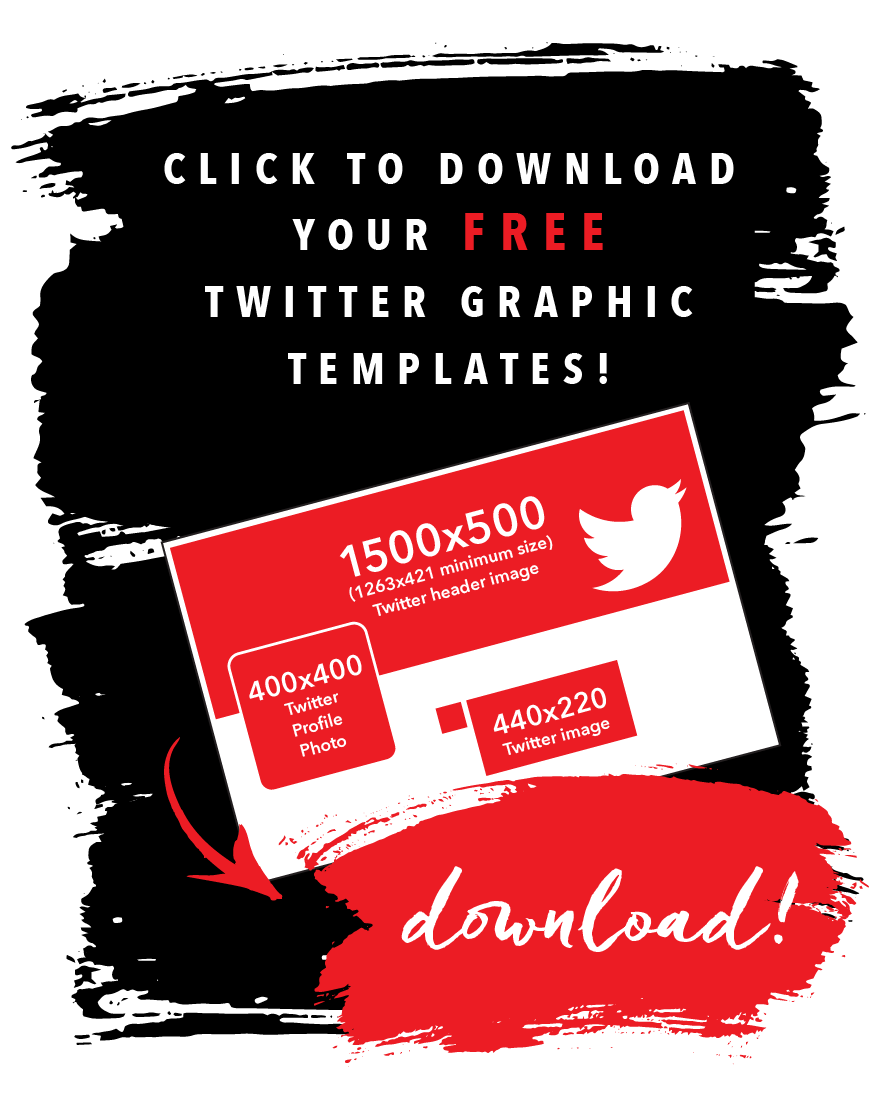 Get FREE Twitter templates!